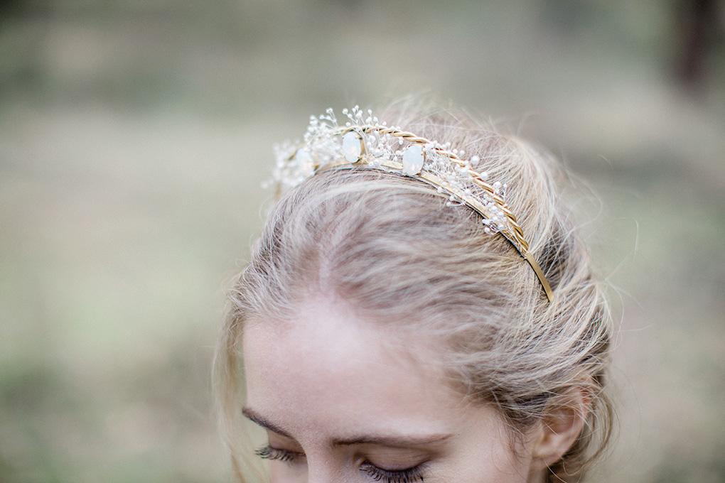 Diadème serre tête tiare couronne princesse en strass mariage bijou de cheveux