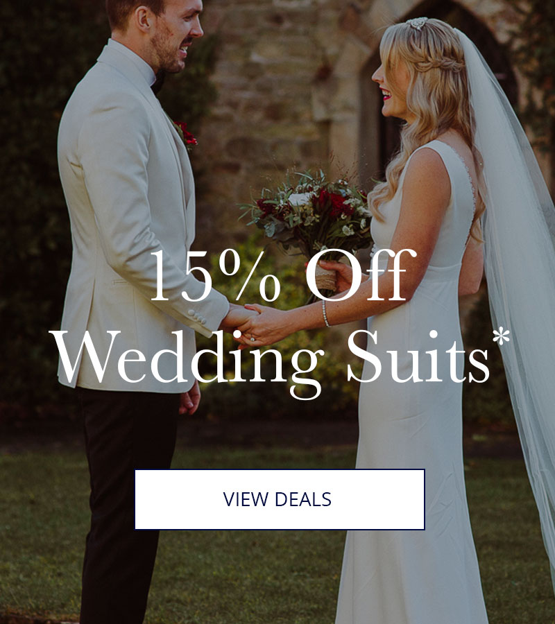 15% Off Wedding Suits