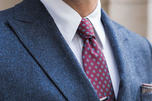 That's Dapper: Double-Breasted Navy Suit/Blazer
