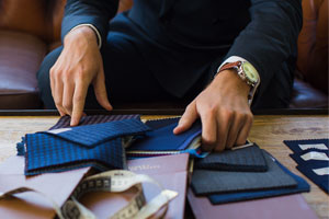 The benefits of a custom, tailor-made suit for your Big Day (and any day).