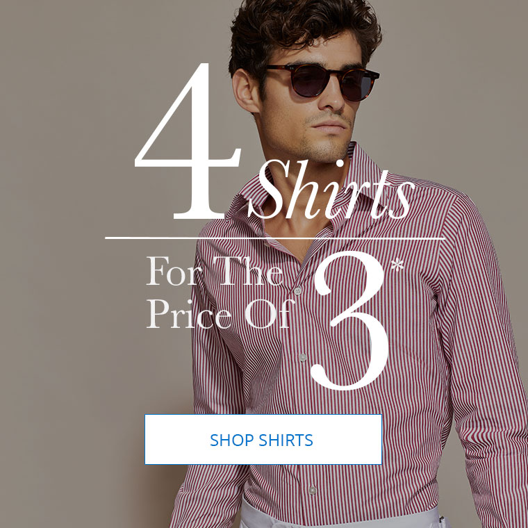 4 Shirts for the Price Of 3