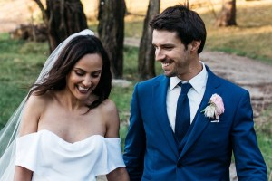 The Navy Blue Three Piece Wedding Suit