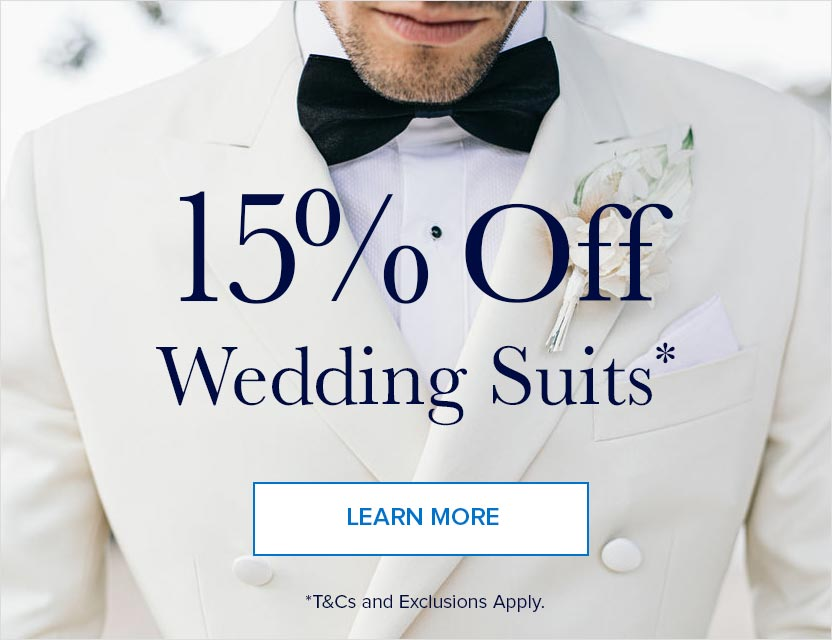 With Your Wedding Suit*
