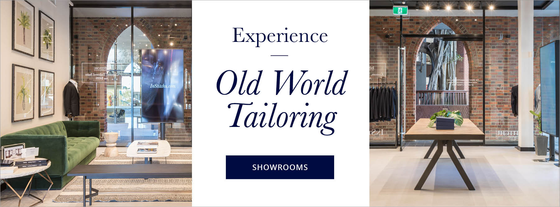 Experience Old World Tailoring