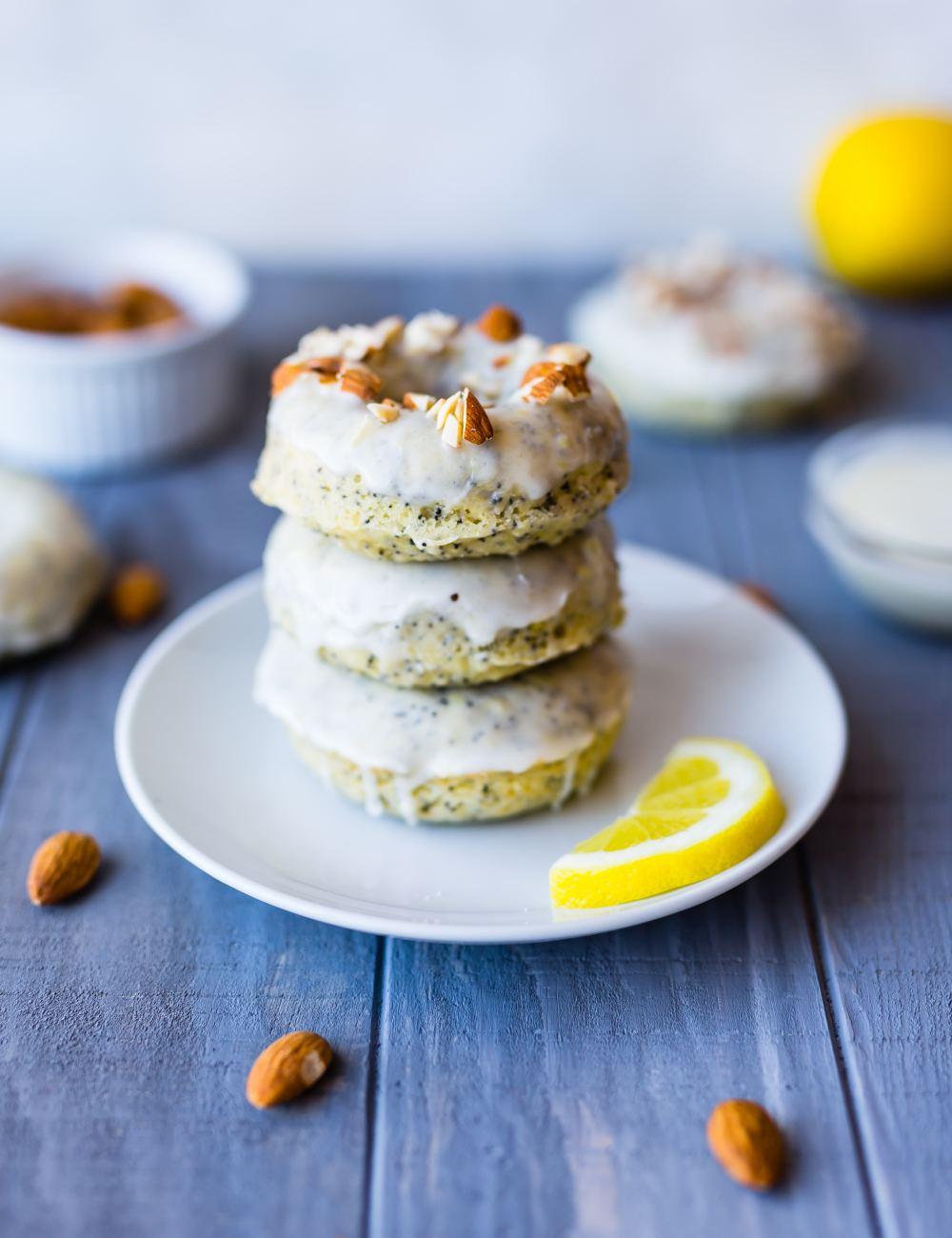 Lemon and donuts.