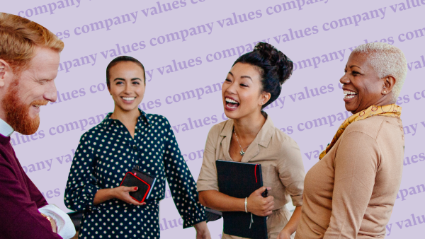 How to define your company values.