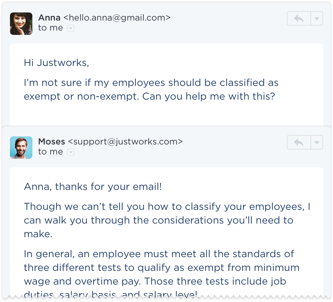 HR consulting through Justworks