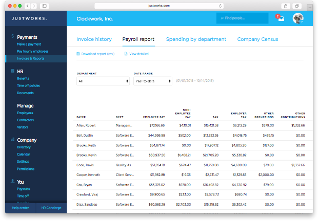 27 payroll report   browser