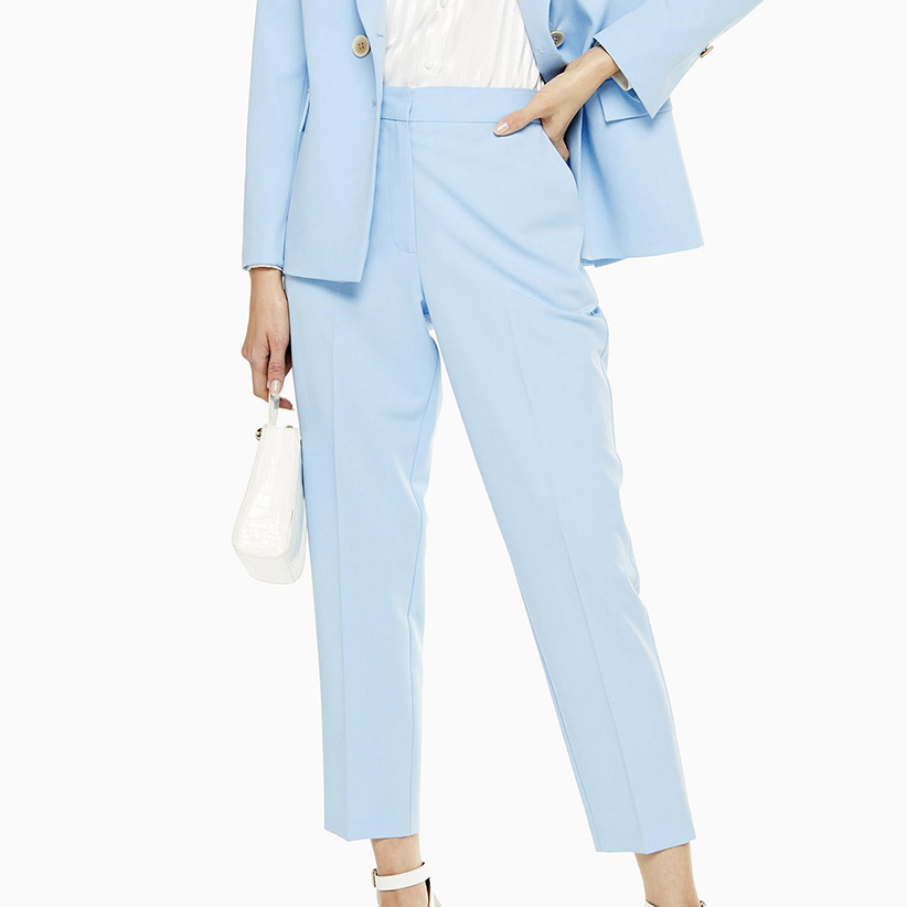 Pale Blue Trousers