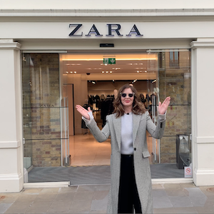 Shop up in Zara