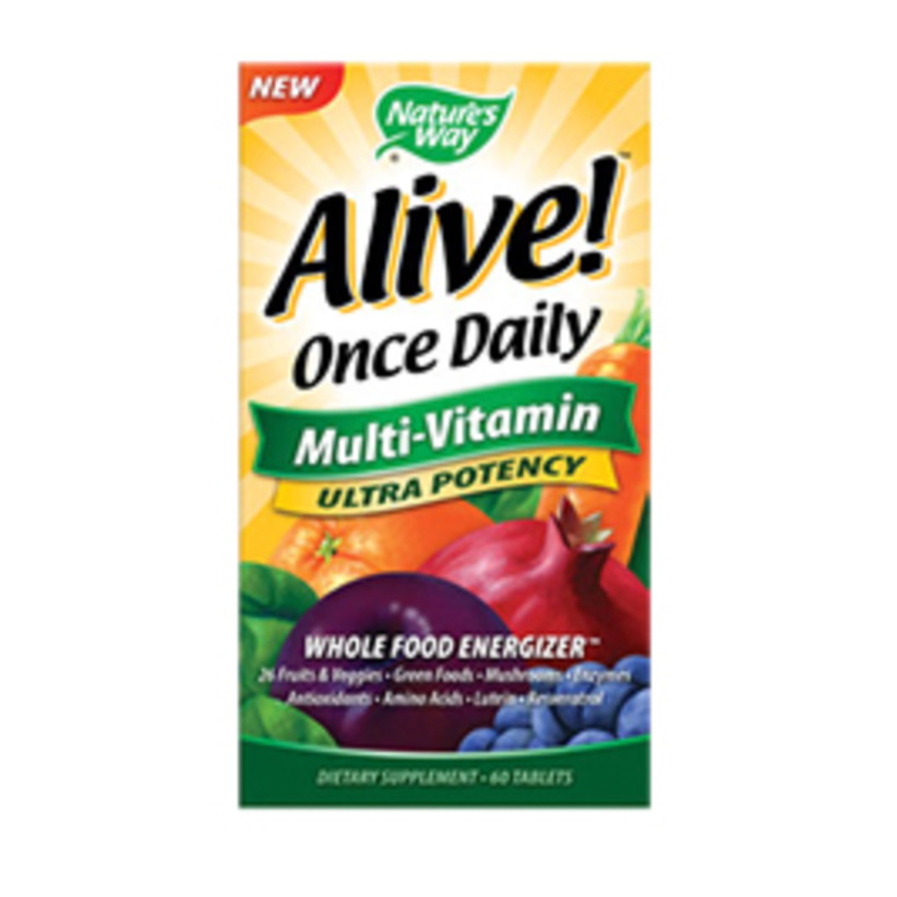 Alive multivitamins