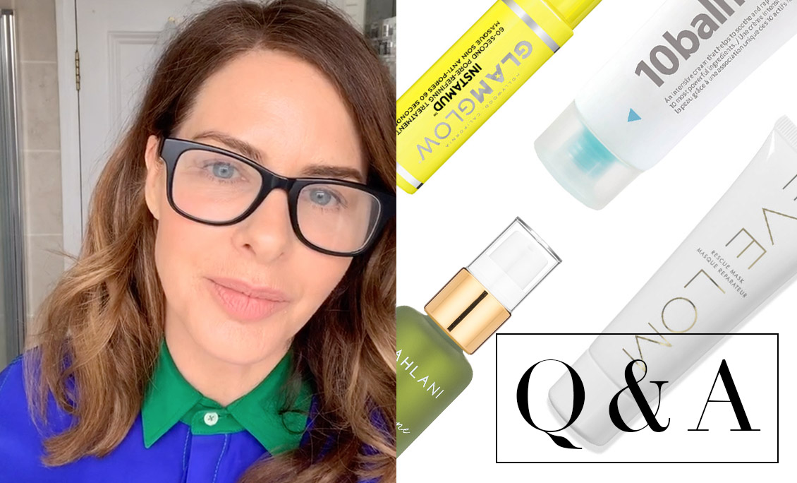Skincare Q&A: PRODUCTS