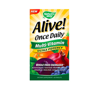 Alive Once Daily Multivitamin Ultra Potency
