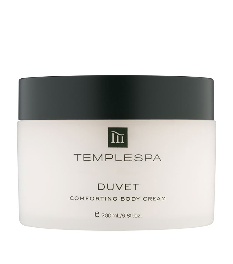 Duvet comforting body cream
