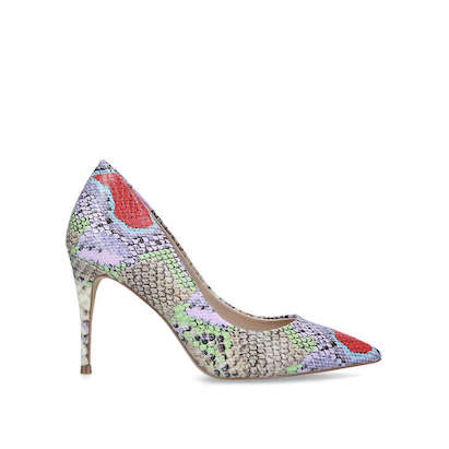 aldo multi coloured shoes £65