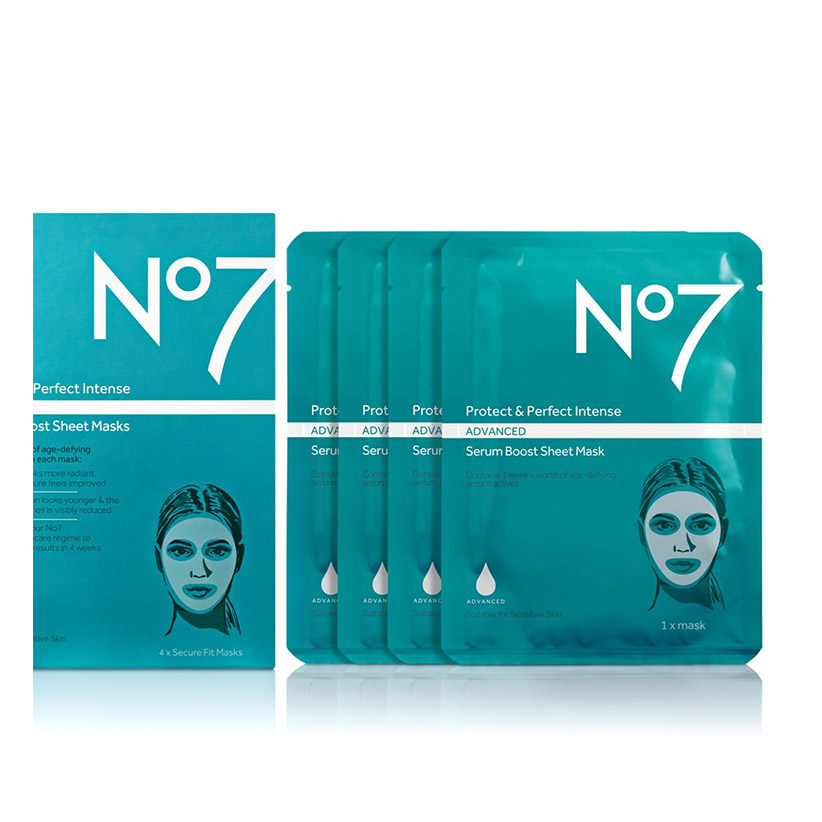Protect & Perfect Intense ADVANCED Serum Boost Sheet Masks (