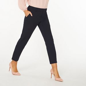 Dorothy Perkins Navy Trousers