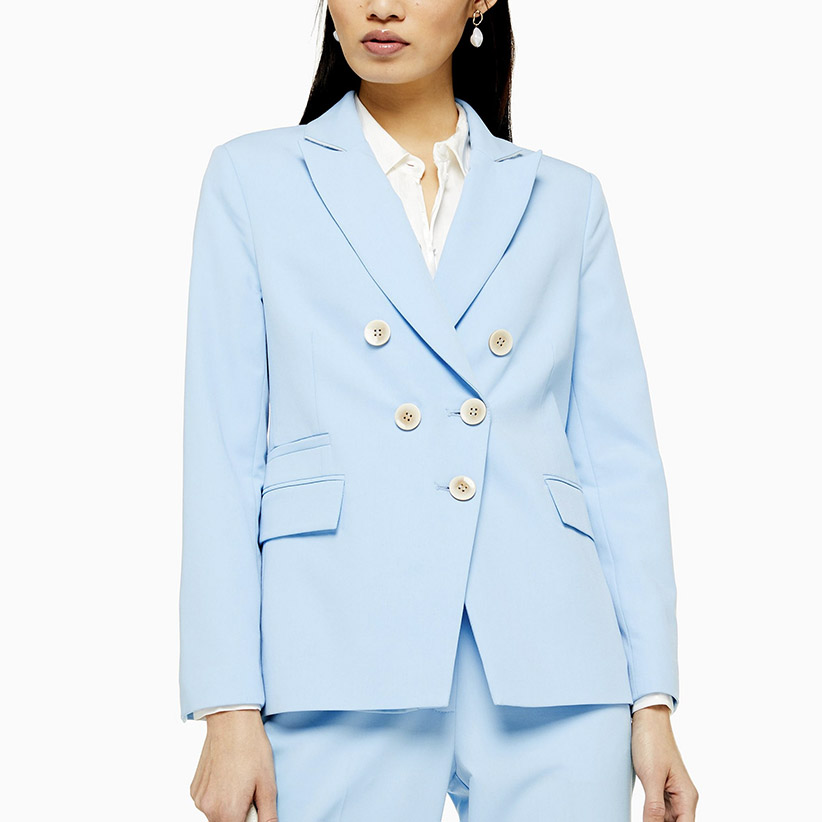 Pale Blue Jacket