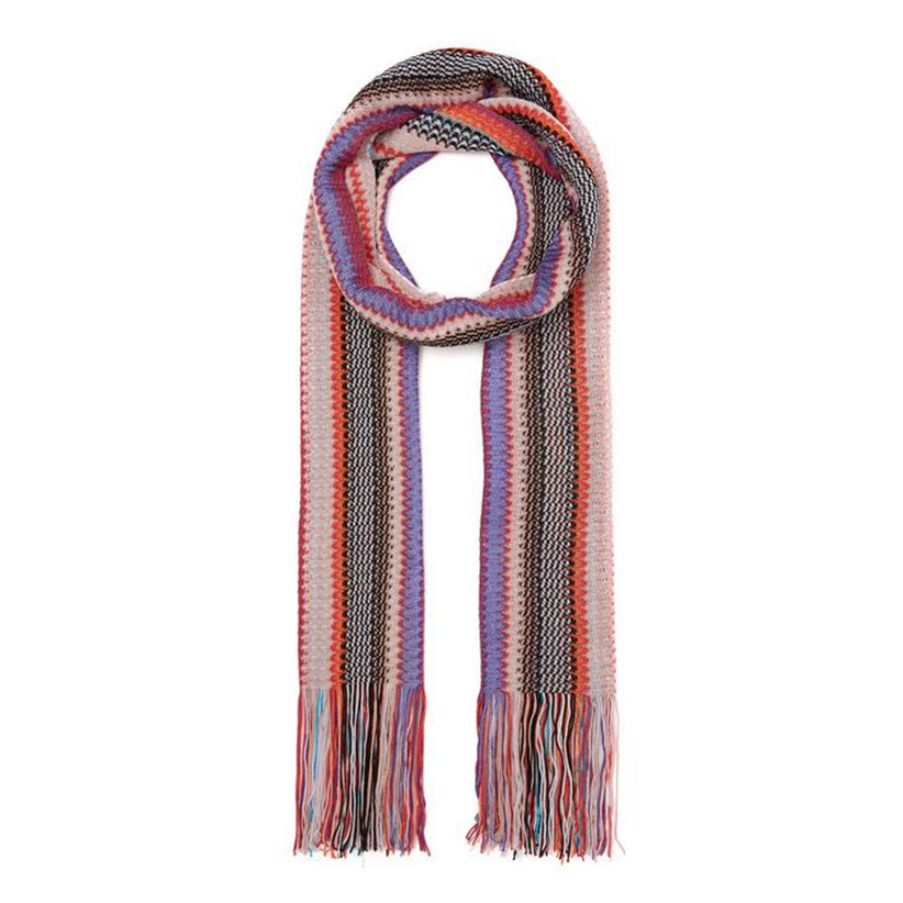 Missoni Multi-Coloured Striped Scarf