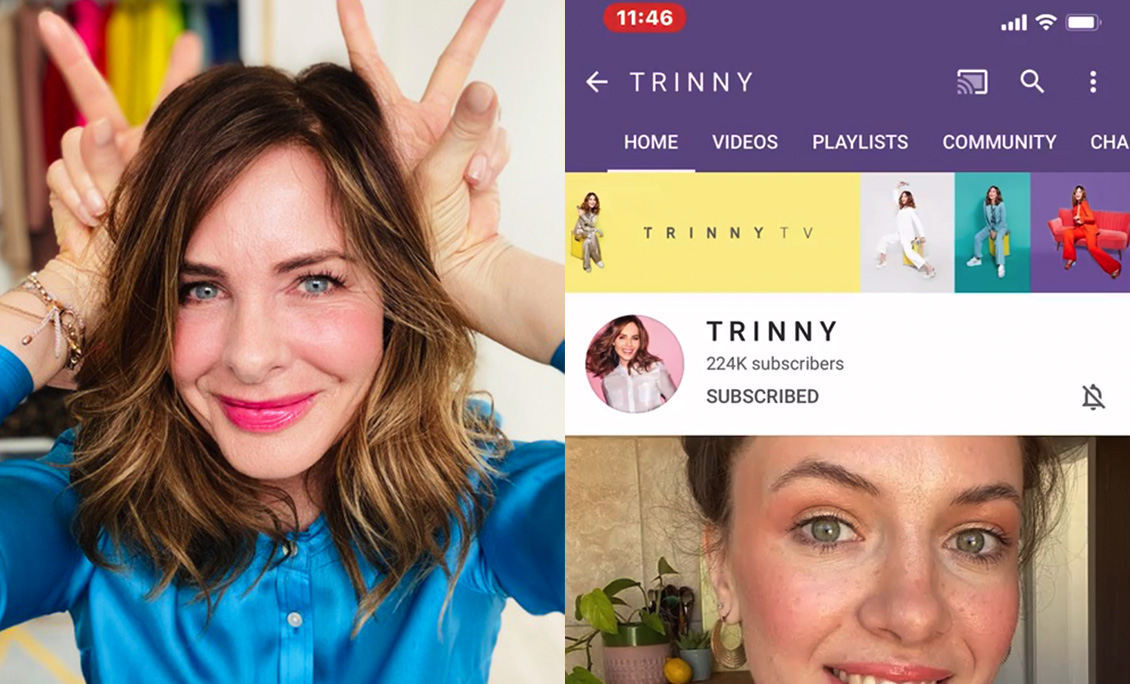 How To Find Trinny's YouTube Videos