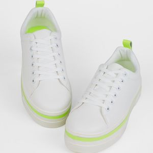 Neon Trim Trainers