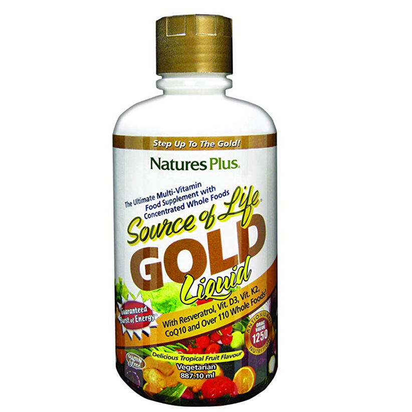 Gold multivitamin liquid