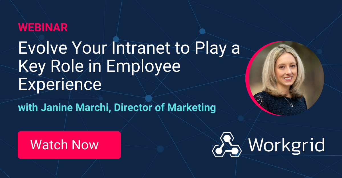 [social] Evolve your intranet to play a key role webinar
