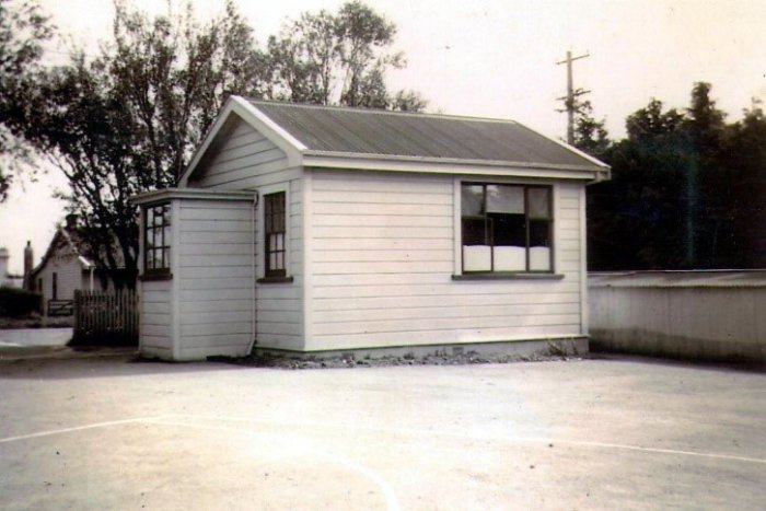 exterior dental clinic shannon school 1950