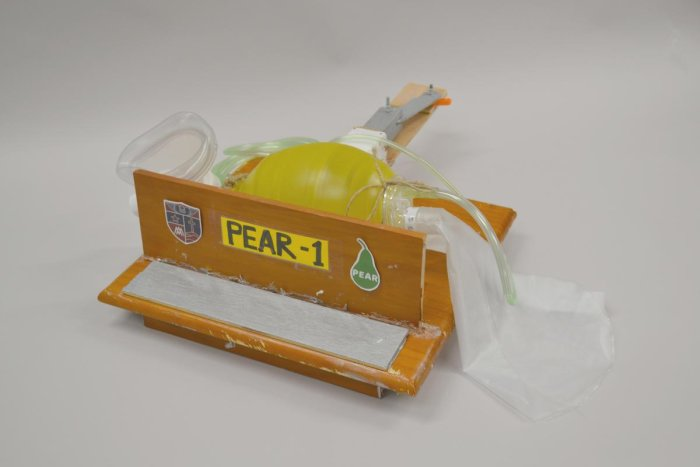 PEAR-1 prototype ventilator