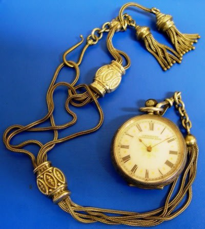 Pendant Watch, F125.2001. Museum of Transport and Technology (MOTAT).