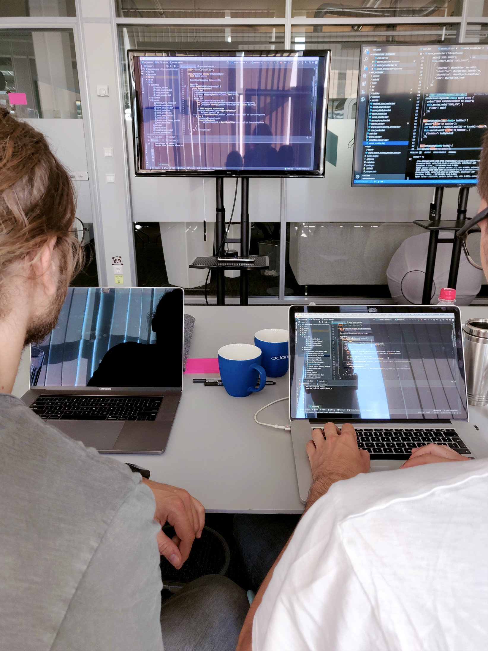 Pair programming during the Sprint