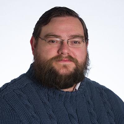A headshot of Patrick Stoddart