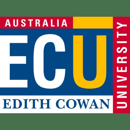 The Edith Cowan University logo (ECU)