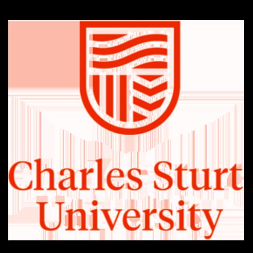 A logo for Charles Sturt University