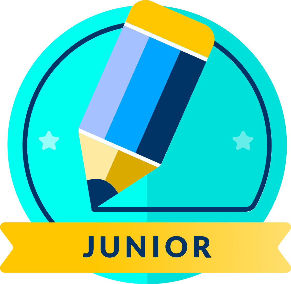 logo for kids English competition Junior league Logo