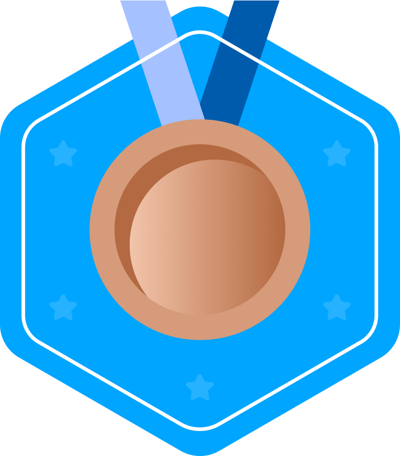 kids coding competition bronze medal logo