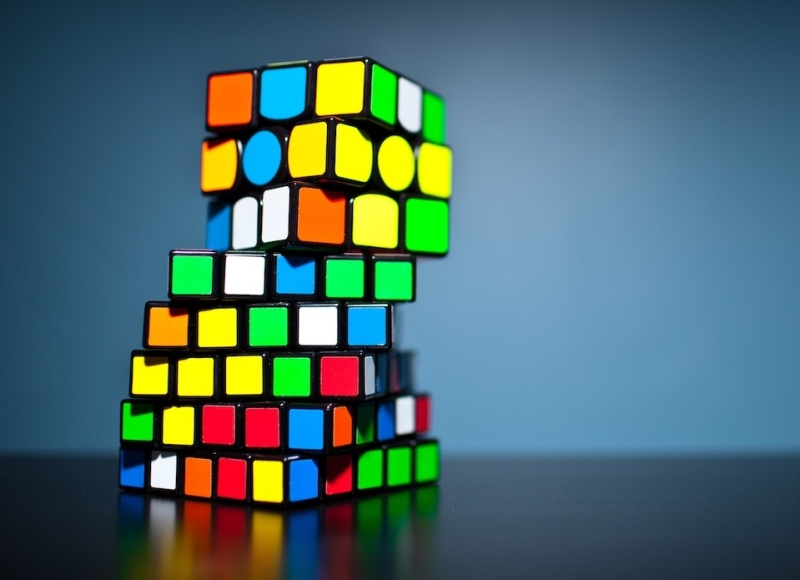 Rubix cube - Photo by Olav Ahrens Rotne on Unsplash