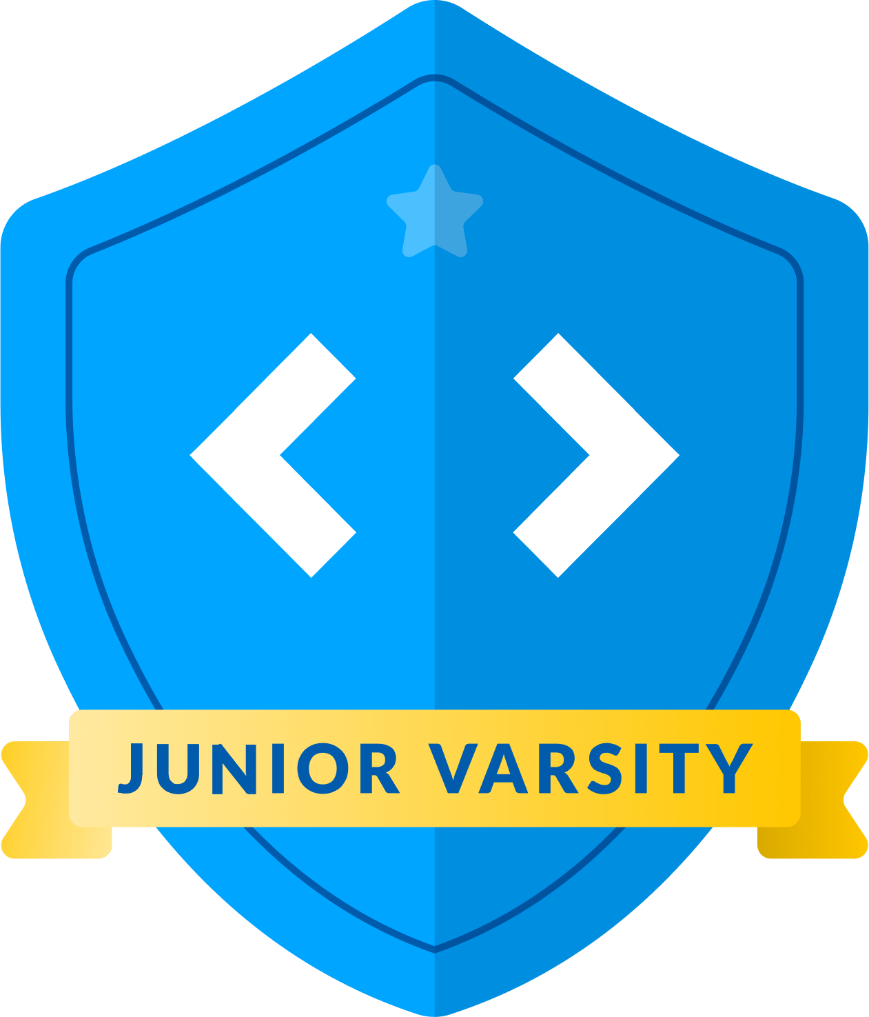logo for kids coding competition junior varsity league Logo