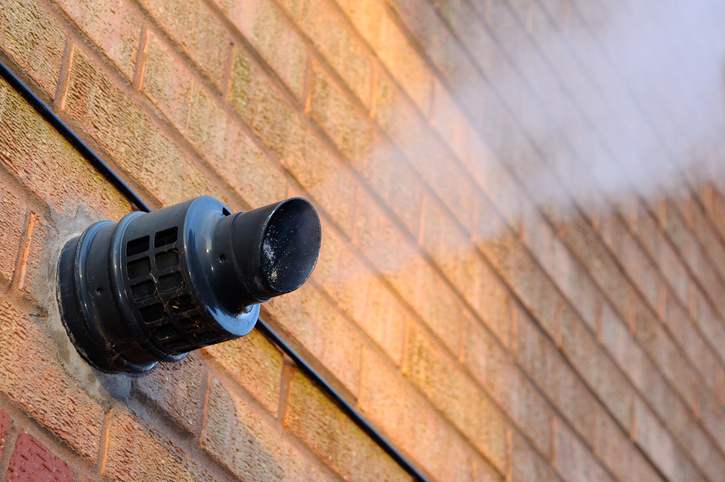 Where your flue comes out can change the price by £100s