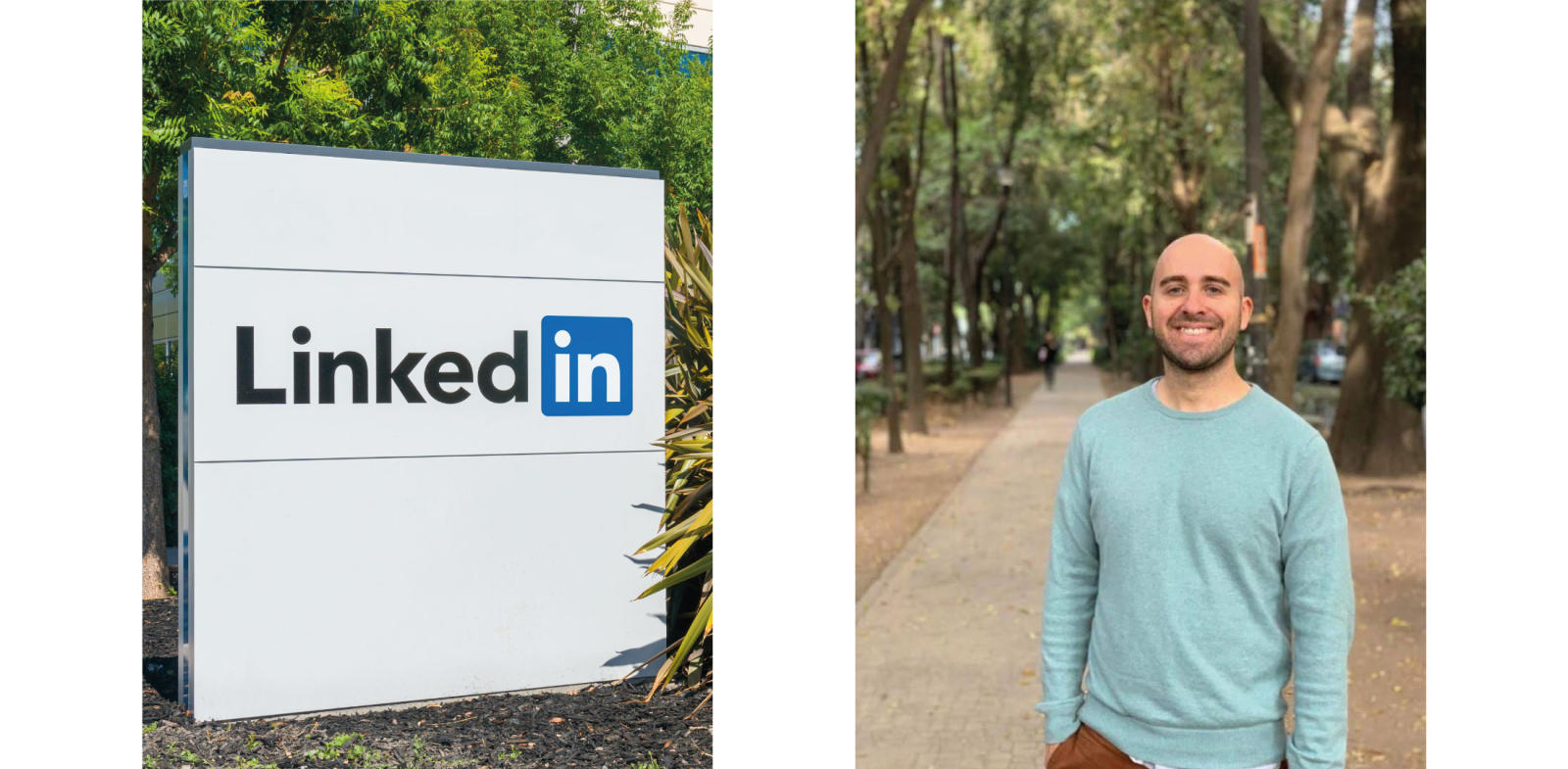 Linkedin sign and Eric Grant, Linkedin Learning, professional development okr examples, okrs professional development, professional development okrs