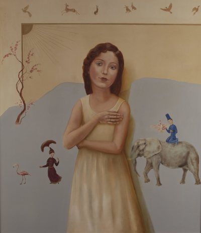 Protector of Animals (Left part of Diptych)