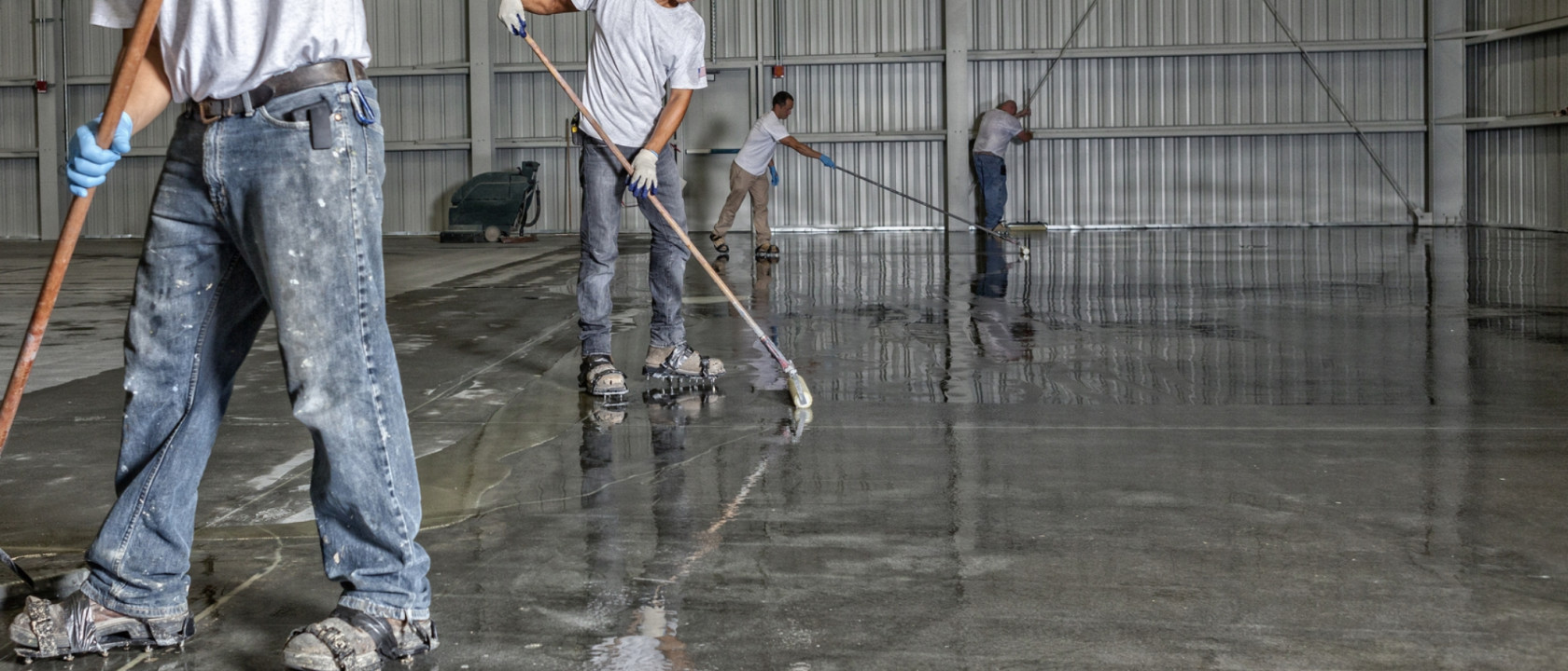 Polyaspartic 745 Concrete Sealer marketing image