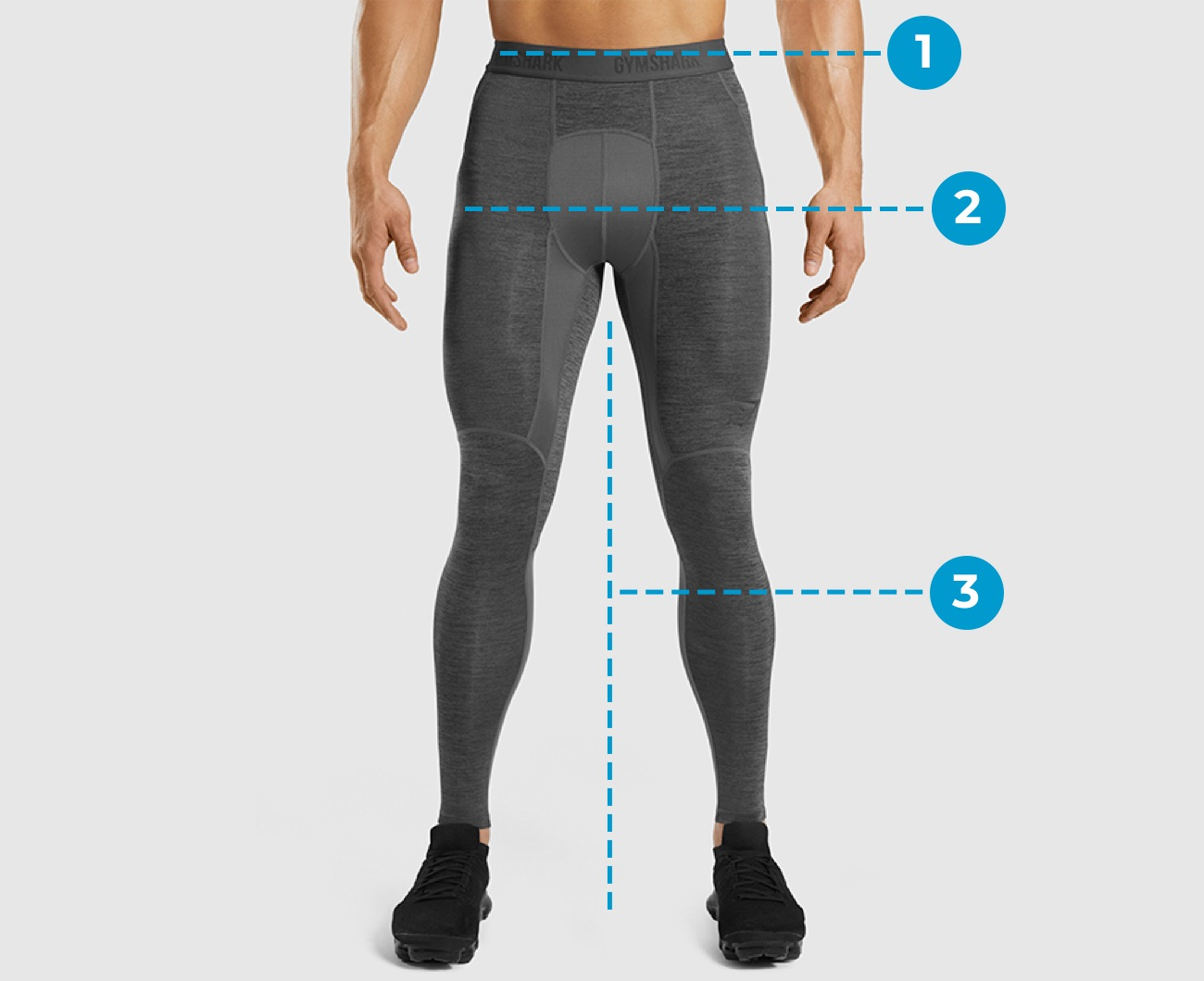 Mens Size Guide Bottoms Markings