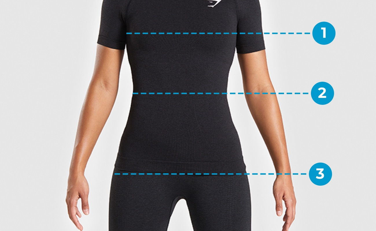 Womens Size Guide Top Markings