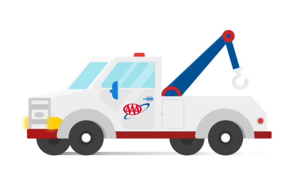 Illustration of a AAA Truck