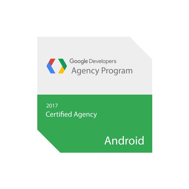 2017 Google Certified Agency for Android
