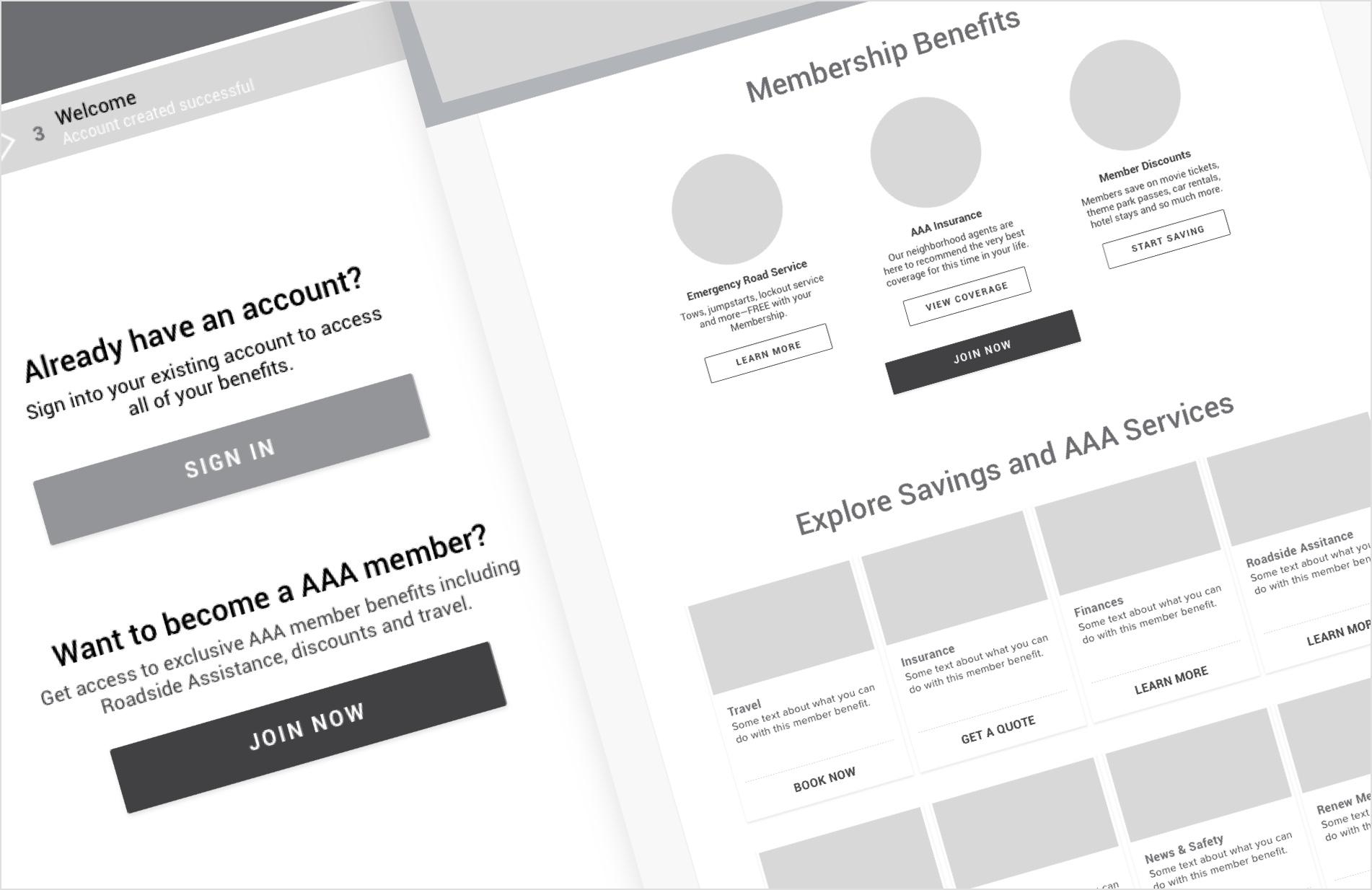 AAA Web App