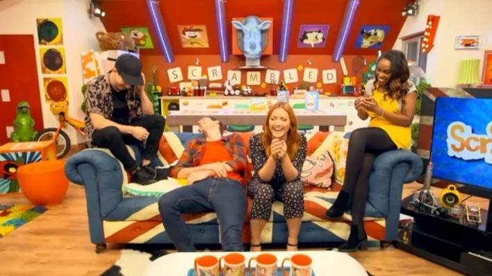 CITV Scrambled. Luke Franks. Kerry Boyne. Arielle Free. Sam Homewood