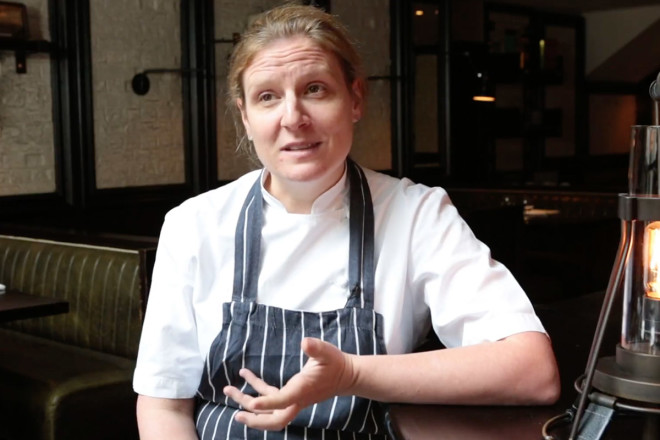 Chef Chantelle Nicholson for World Meat Free Week