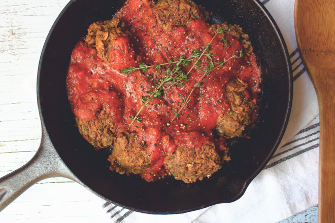 Spicy Lentil Meatballs